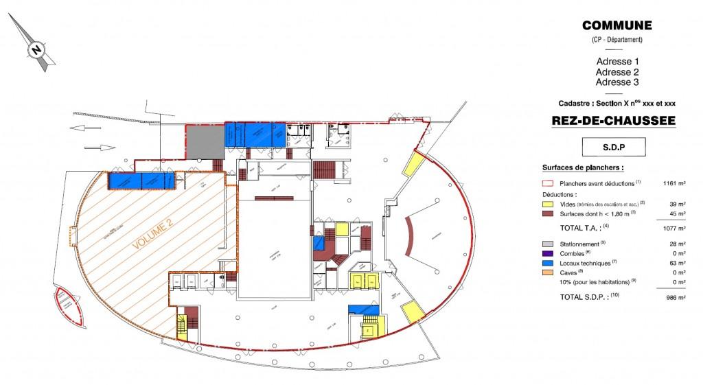 Prestations digital draw - Surface de plancher et surface habitable ...